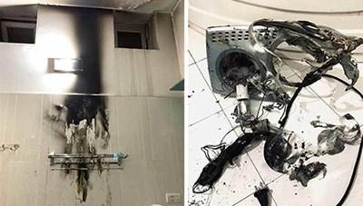 Cảnh báo về nguy cơ cháy nổ của đèn sưởi nhà tắm