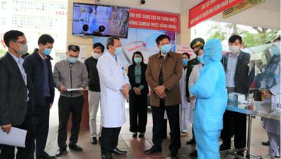 Quảng Ninh: Quyết liệt phòng chống, kiểm soát Covid-19 trong cơ sở khám chữa bệnh