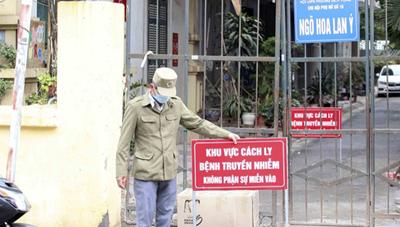 Hà Nội: Đi làm hợp đồng mua nhà, 'dính' Covid-19
