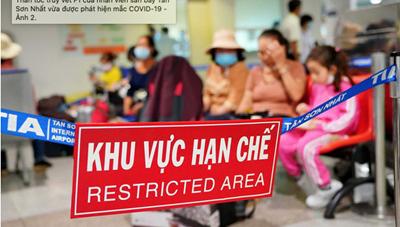 Thêm 4 ca Covid-19, đều là nhân viên bốc xếp sân bay Tân Sơn Nhất