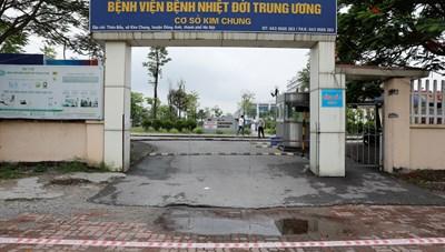 Ổ dịch Bệnh viện Bệnh Nhiệt đới Trung ương đã có 42 ca Covid-19