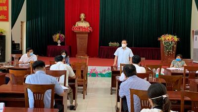 Kiểm tra tại Thường Tín, Phó Chủ tịch Hà Nội yêu cầu cách ly ngay 1 đội