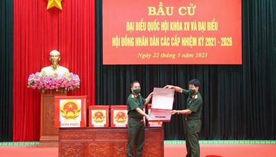 [ẢNH] Bắc Ninh tiến hành bầu cử sớm với hơn 3.200 cử tri