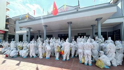 Bắc Giang: Bút ký những ngày chống dịch đầy xúc động