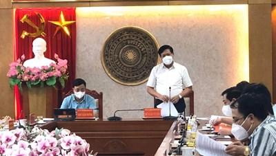 Thứ trưởng Bộ Y tế: Thái Nguyên cần giữ vững chắc các 'thành trì' phòng, chống dịch