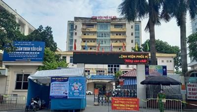 Các bệnh viện thực hiện tiếp nhận bệnh nhân từ BV Phổi Hà Nội