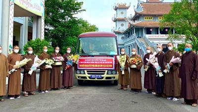 Giáo hội Phật giáo Việt Nam đề nghị tiếp nhận và điều phối Tăng, Ni trẻ tham gia chống dịch
