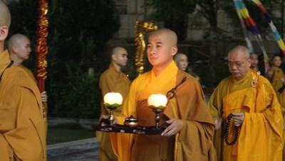 Vu Lan tại Học viện Phật giáo Hà Nội đề cao tứ trọng ân