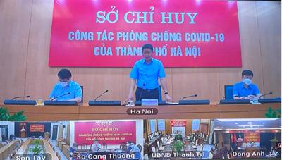 Hà Nội: Chủ động xây dựng phương án phục hồi 'hậu giãn cách xã hội'