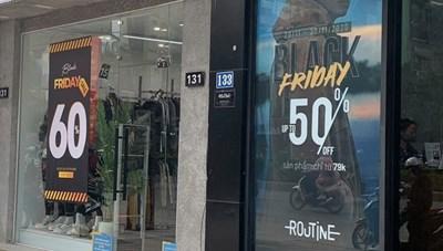 BlackFriday - Các thương hiệu đồng loạt giảm giá, kích cầu mua sắm