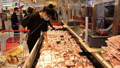 Điều chỉnh giá thịt lợn bình ổn
