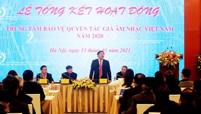 Trung tâm Bảo vệ Quyền Tác giả Âm nhạc Việt Nam: Thu hơn 150 tỷ đồng trong năm 2020