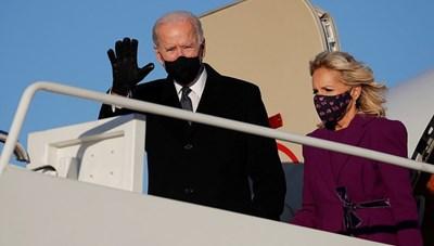 Ông Biden tạm biệt quê nhà, đến Washington bắt đầu các nghi thức nhậm chức