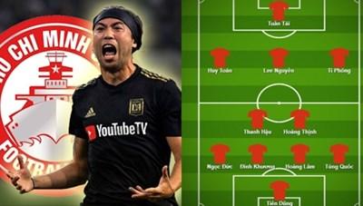 Lee Nguyễn và đội hình nội binh 'sao số' của TP HCM ở V-League 2021