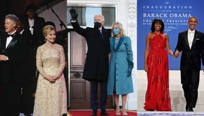Thời trang của các Đệ nhất phu nhân Mỹ trong ngày nhậm chức