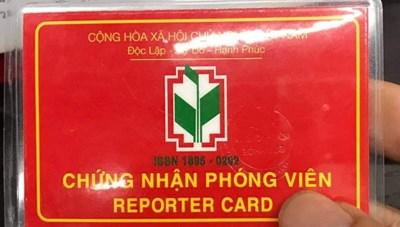 Quảng Ngãi: Điều tra 2 người tự xưng phóng viên đến doanh nghiệp… xin tiền tất niên