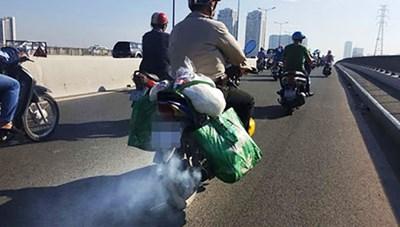 Giám sát khi kiểm soát khí thải xe máy