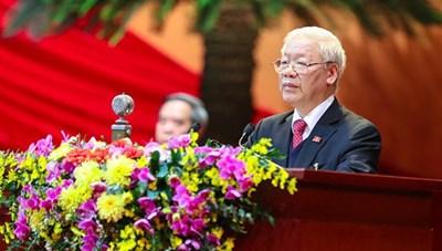 Diễn văn bế mạc Đại hội đại biểu toàn quốc lần thứ XIII của Đảng cộng sản Việt Nam