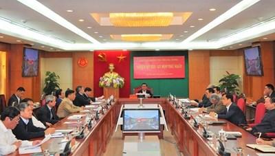Ủy ban Kiểm tra Trung ương khóa XIII bầu các Phó Chủ nhiệm
