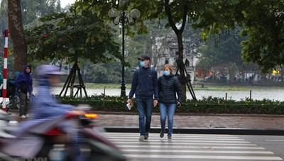 Bắc Bộ trời rét, Hà Nội có mưa phùn
