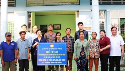 MTTQ tỉnh An Giang: Điểm nhấn trong công tác chăm lo cho an sinh xã hội