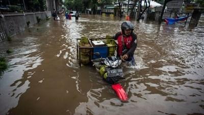 Jakarta (Indonesia) ngập lụt