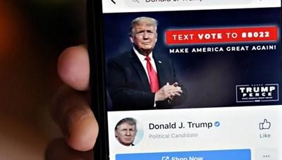 Ông Trump đòi Facebook, Instagram mở lại tài khoản