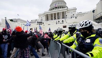 Cảnh sát cảnh báo âm mưu cho 'nổ tung quốc hội Mỹ'