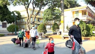 Giải thể Bệnh viện dã chiến số 1 ở Chí Linh - Hải Dương