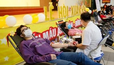 Hơn 40.000 chế phẩm máu được cung cấp cho 132 cơ sở y tế
