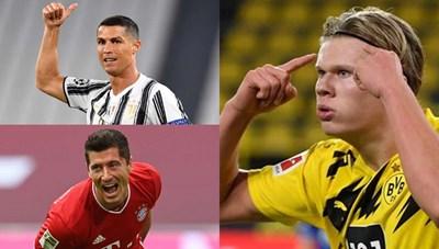 Ronaldo tăng tốc trong cuộc đua 'Chiếc giày Vàng' châu Âu 2020/2021