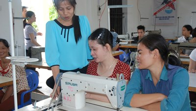 Hiệu quả từ mô hình giúp phụ nữ thoát nghèo