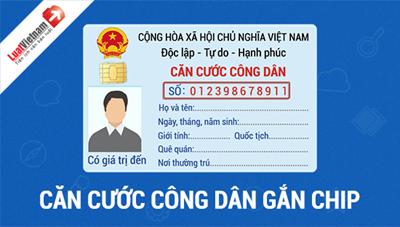 Chíp gắn trên thẻ căn cước công dân có chức năng định vị?