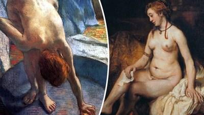 Tại sao các nhân vật trong siêu phẩm hội họa hay... đi tắm thế?