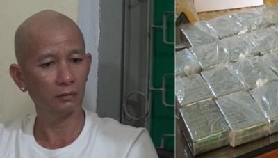 Bắt giữ đối tượng mua bán 30 bánh heroin
