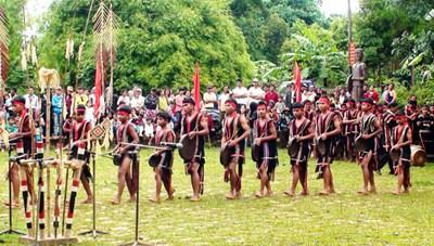 Ngày hội VHTTDL các dân tộc vùng Tây Nguyên