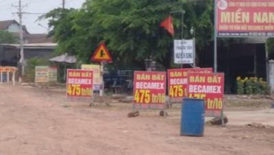 Bình Phước: Chính quyền cảnh báo trước nạn 'thổi giá' đất