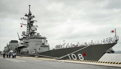 Tàu khu trục Nhật Bản thăm hữu nghị TP Hải Phòng