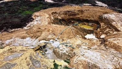 Quảng Nam: Tái diễn nạn khai thác vàng trên sông Vàng