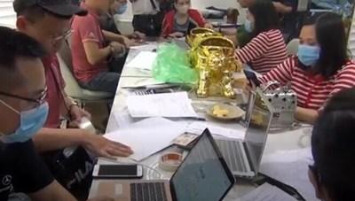 Triệt phá 4 sàn giao dịch vàng, tiền ảo