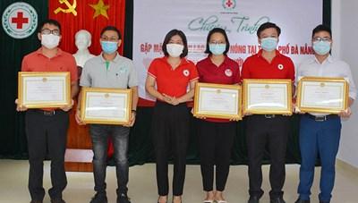 Đà Nẵng: Tôn vinh 270 tập thể, cá nhân hiến máu tiêu biểu