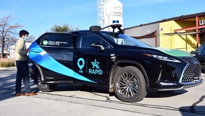 Toyota ra mắt dịch vụ xe đưa đón không người lái