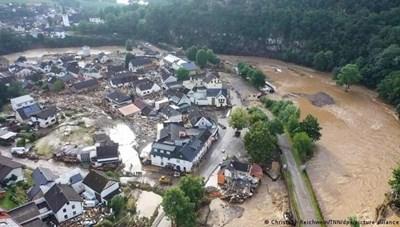 Lụt lội nghiêm trọng tại châu Âu khiến hơn 60 người thiệt mạng
