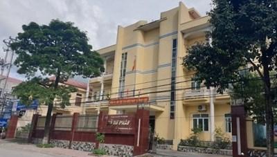 Sở Tư pháp Điện Biên sai phạm 359 triệu đồng