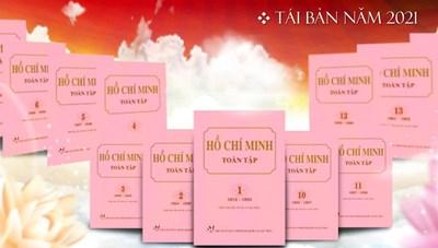 NXB Chính trị quốc gia Sự thật giới thiệu bộ sách 'Hồ Chí Minh toàn tập'