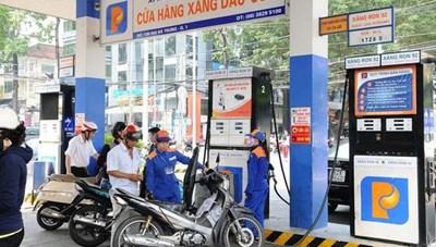 Giá xăng, dầu giảm sau nhiều lần tăng liên tiếp
