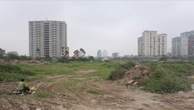 Hà Nội: Nhiều dự án sử dụng đất chậm tiến độ