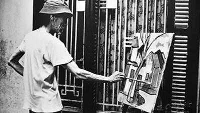 Triển lãm ảnh 'Bùi Xuân Phái - Trăm năm một tình yêu Hà Nội'