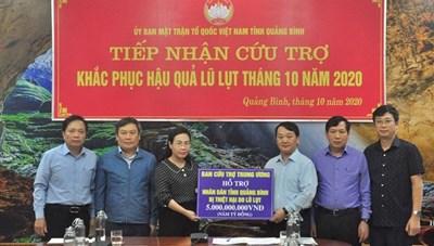[VIDEO] Phó Chủ tịch - Tổng Thư ký Hầu A Lềnh làm việc tại tỉnh Quảng Bình