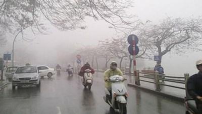 Bắc Bộ trở lạnh, mưa lớn từ Thanh Hóa đến Quảng Bình
